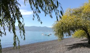 Venta de sitio con Casa Orilla de Lago Villarrica